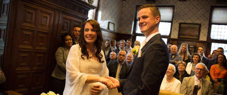 bruiloften de rijp