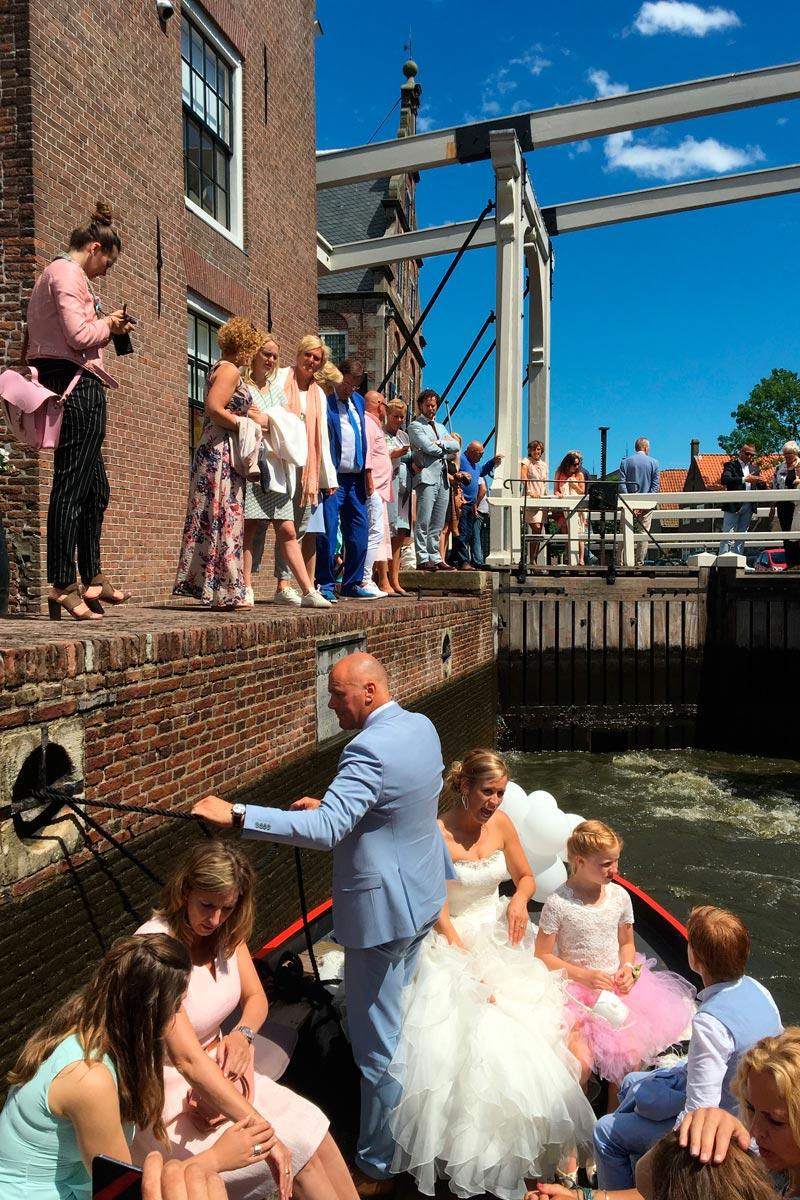 bruiloften trouwen in de rijp